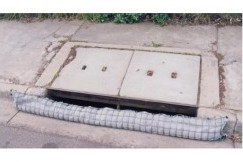 Sediment (Silt) Trap for drains 1.2m long