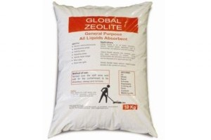 Zeolite floorsweep