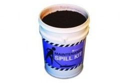Pail Global Peat Spill Kit