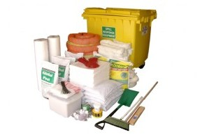 Mobile Oil & Fuel Spill Kit - SKH1100